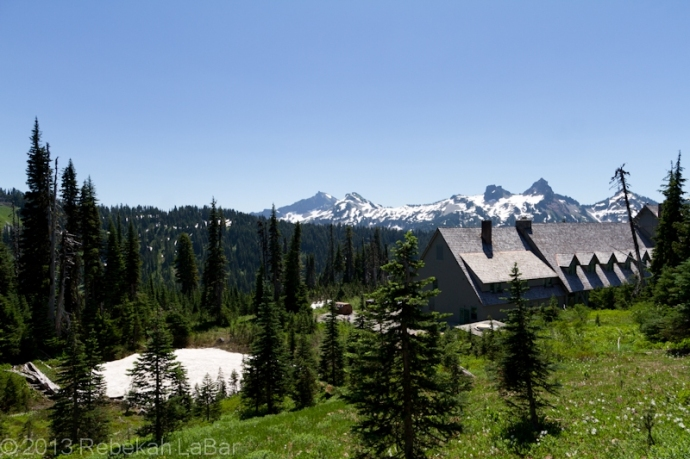 Tatoosh Range, part of Mt Rainier National Park, at Paradise Inn