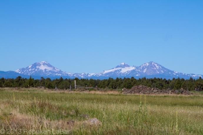 The Three Sisters, Oregon Cascade Mountains