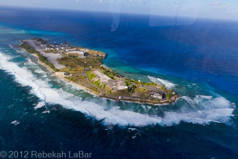 My First Flight to Meck Island